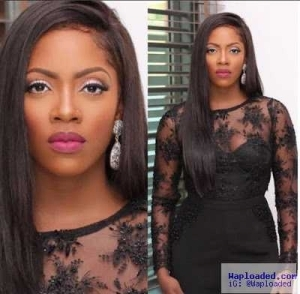 Tiwa Savage steps out looking gorgeous